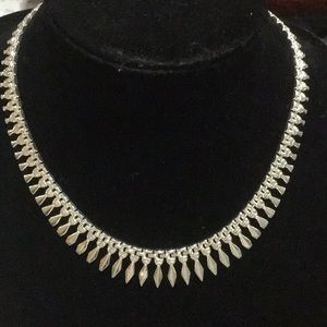 STERLING SILVER ITALY 925 STAMPED NECKLACE